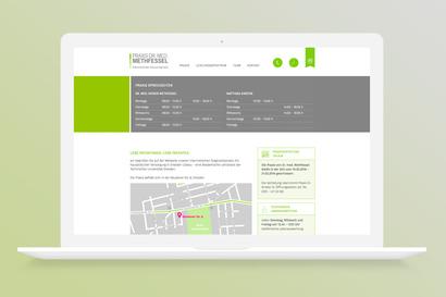 Website Praxis Methfessel